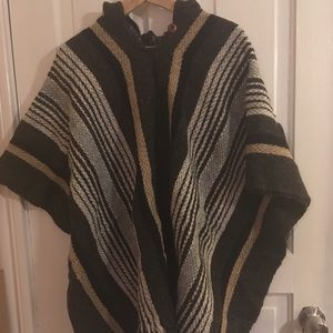 Jackets & Blazers - New poncho, bought in Ecuador!.